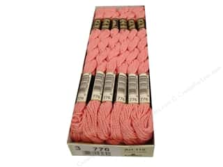 DMC Pearl Cotton Skein Size 3 #776 Medium Pink (12 skeins)