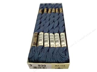 DMC Pearl Cotton Skein Size 3 #930 Dark Antique Blue