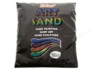 craft & hobbies: Estes Art Sand 2 lb. Black