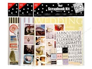 scrapbooking & paper crafts: Me & My Big Ideas Scrapbook Kit, SALE $4.59-$8.09.
