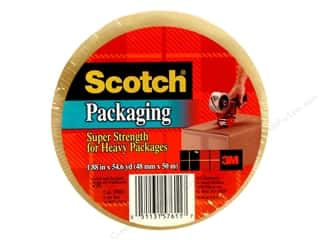 "Scotch Tape Super Strength Packaging Clear 1.88""x 55yd"