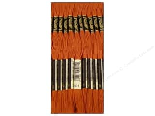 DMC Six-Strand Embroidery Floss #301 Medium Mahogany