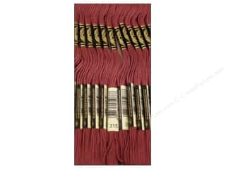 DMC Six-Strand Embroidery Floss #315 Dark Antique Mauve