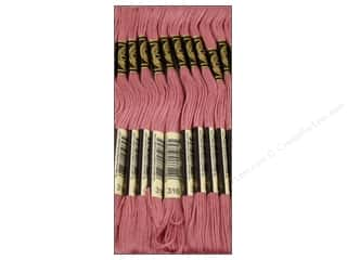 DMC Six-Strand Embroidery Floss #316 Medium Antiqueique Mauve