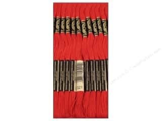embroidery floss: DMC Six-Strand Embroidery Floss #321 Christmas Red (12 skeins)