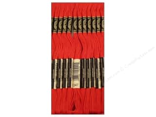 DMC Six-Strand Embroidery Floss #347 Very Dark Salmon