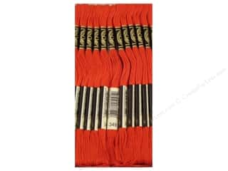 DMC Six-Strand Embroidery Floss #349 Dark Coral