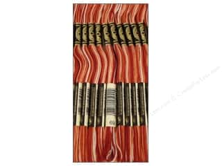 DMC Six-Strand Embroidery Floss #69 Variegated Terra Cotta (12 skeins)