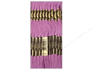 embroidery floss: DMC Six-Strand Embroidery Floss #553 Violet (12 skeins)