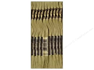 DMC Six-Strand Embroidery Floss #3013 Light Khaki Green