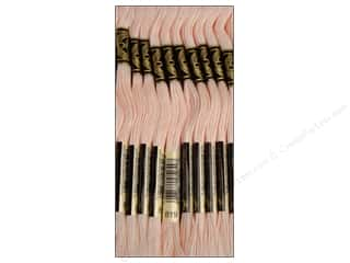 DMC Six-Strand Embroidery Floss #819 Light Baby Pink (12 skeins)