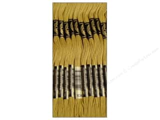DMC Six-Strand Embroidery Floss #834 Very Light Golden Olive (12 skeins)