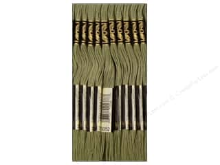 DMC Six-Strand Embroidery Floss #3052 Medium Green Grey