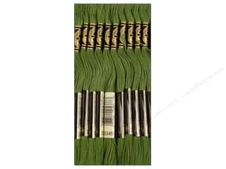 DMC Six-Strand Embroidery Floss #3346 Hunter Green