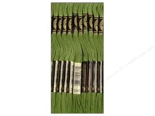 DMC Six-Strand Embroidery Floss #3347 Medium Yellow Green