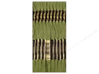 DMC Six-Strand Embroidery Floss #3364 Pine Green