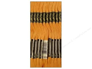 sewing & quilting: DMC Six-Strand Embroidery Floss #3854 Medium Autumn Gold (12 skeins)