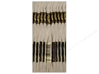 sewing & quilting: DMC Six-Strand Embroidery Floss #3866 Ultra Light Very Light Mocha Brown (12 skeins)