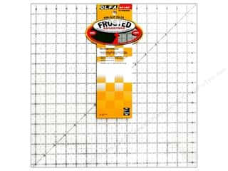 ruler: Olfa Frosted Acrylic Ruler 16 1/2 x 16 1/2 Square