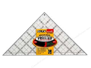 Olfa Frosted Acrylic Ruler 6 1/2 in. Right Triangle