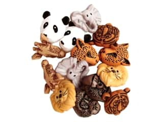 craft & hobbies: Jesse James Dress It Up Embellishments Animal World