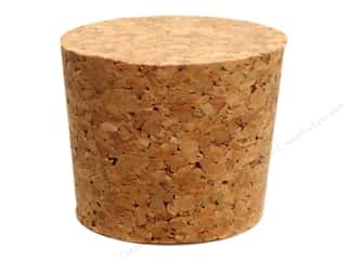 Cork Stoppers: Hearts & Crafts Craf-T-Corks Cork Stopper 1 3/4 x 1 1/2 in. 1 pc.