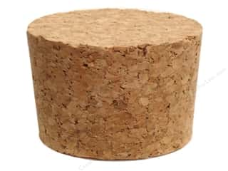 Cork Stoppers: Hearts & Crafts Craf-T-Corks Cork Stopper 2 1/2 x 1 1/2 in. 1 pc.