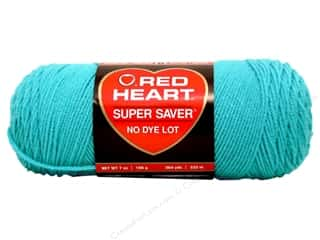 yarn & needlework: Red Heart Super Saver Yarn 364 yd. #0512 Turqua