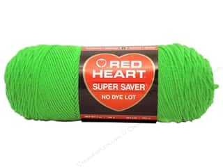 yarn & needlework: Red Heart Super Saver Yarn #0672 Spring Green 364 yd.