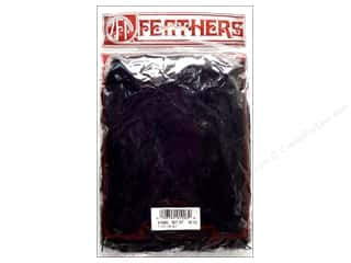 Feathers: Zucker Feather Turkey Flats Feathers 1/2 oz. Black