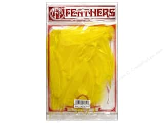 Zucker Feather Goose Satinettes Feathers 1/4 oz. Yellow