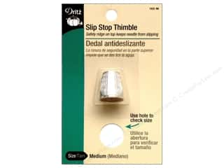 Slip-Stop Thimble by Dritz Medium