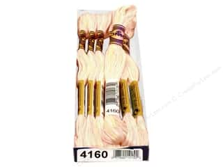 yarn & needlework: DMC Color Variations Floss 8.7 yd. #4160 Glistening Pearl (6 skeins)