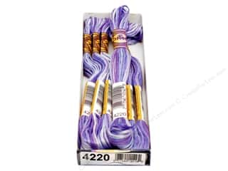 DMC Color Variations Floss 8.7 yd. #4220 Lavender Fields (6 skeins)