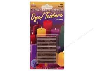 Yaley Candle Dye Block 3/4 oz. Red