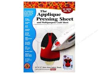 glues, adhesives & tapes: Bear Thread Designs Applique Pressing Sheet 13 x 17 in.