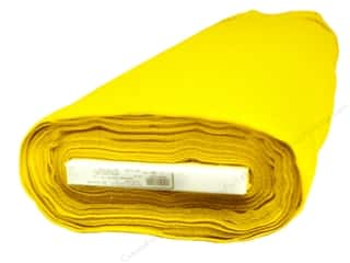 Classic Crafts: Kunin Rainbow Classic Felt 36 in. x 20 yd. Yellow (20 yards)