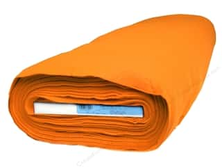 Orange felt: Kunin Rainbow Classic Felt 36 in. x 20 yd. Orange (20 yards)