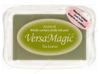 Magic Stamp: Tsukineko VersaMagic Large Chalk Pigment Ink Stamp Pad Tea Leaves