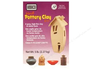 AMACO: AMACO Moist Pottery Clay 5 lb.