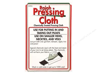 Quilting Pressing Aids: Sullivans Rajah Pressing Cloth White