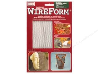craft & hobbies: AMACO WireForm Metal Mesh 1/8 in. Impression Copper 16 x 20 in.