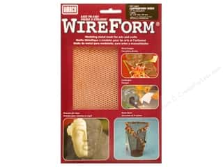 craft & hobbies: AMACO WireForm Metal Mesh 1/4 in. CopperForm Copper 16 x 20 in.