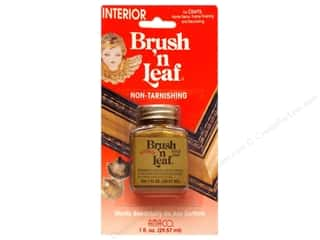 craft & hobbies: AMACO Brush 'n Leaf Interior 1 oz. Gold Leaf