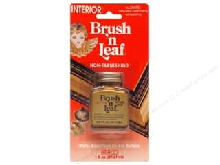 craft & hobbies: AMACO Brush 'n Leaf Interior 1 oz. Antique Gold