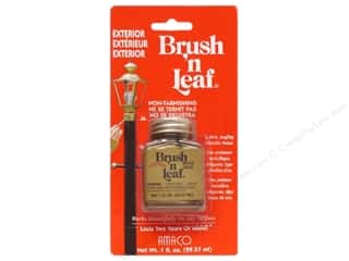 AMACO Brush n Leaf Exterior 1 oz. Brass Gold