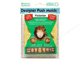 Sculpey Flexible Push Molds : AMACO Designer Push Mold Victorian