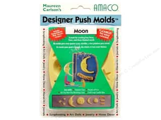Sculpey Flexible Push Molds : AMACO Designer Push Mold Moon