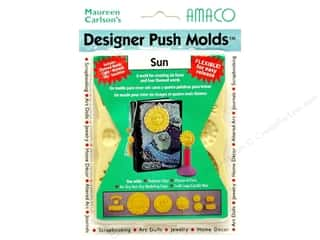 Sculpey Flexible Push Molds : AMACO Designer Push Mold Sun