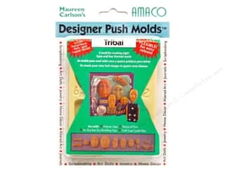 Sculpey Flexible Push Molds : AMACO Designer Push Mold Tribal